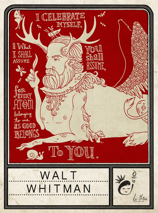 figurina #14 - walt whitman