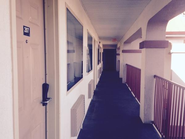 Un motel in Baton Rouge.