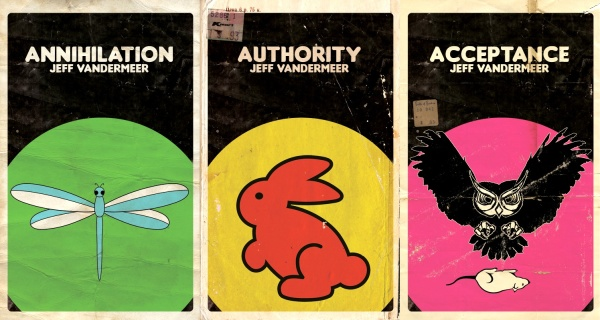 Southern Reach Trilogy alternative covers