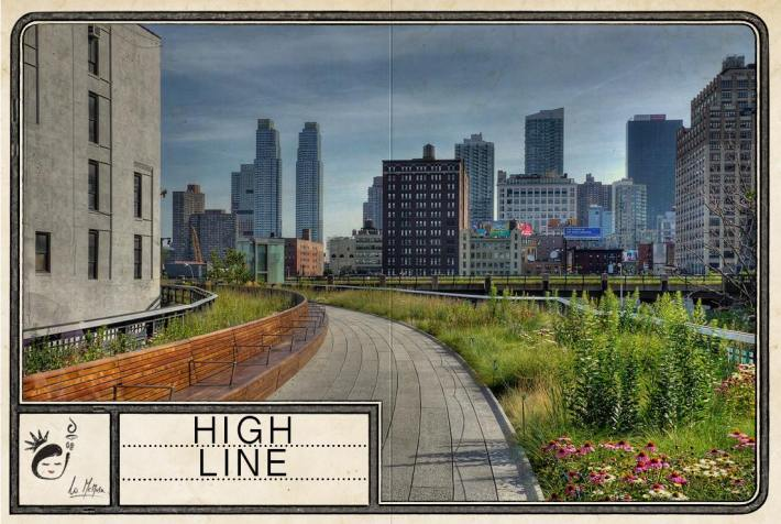 figurina #18 - high line