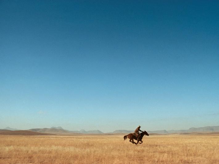 The Lone Rider - William Albert Allard